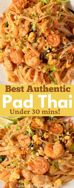 best under 30 mins pad thai