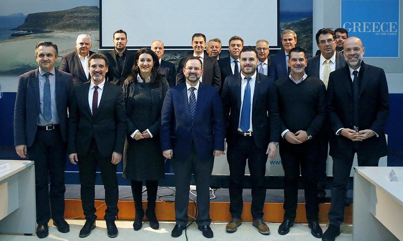 Στο Περιφερειακό Συμβούλιο Τουρισμού ο Αντιπεριφερειάρχης Τουρισμού ΑΜ-Θ Αθανάσιος Τσώνης