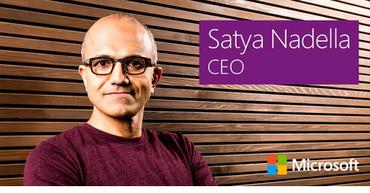 Satya Nadella se convierte en CEO de Microsoft y recibe plenos poderes