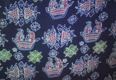motif batik jambi kapal sanggat