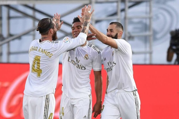 [Breaking] Real Madrid win its 34th La Liga title (photos)