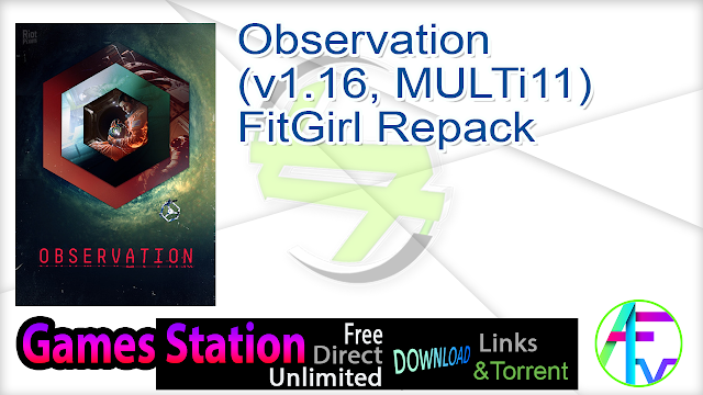 Observation (v1.16, MULTi11) FitGirl Repack