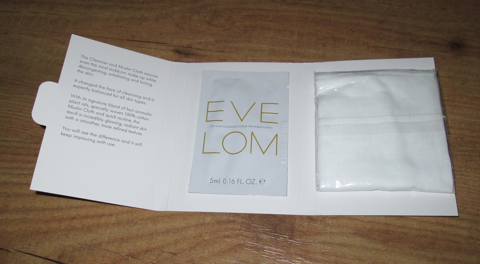 beautyful blog by pampashase review eve lom cleanser. Black Bedroom Furniture Sets. Home Design Ideas