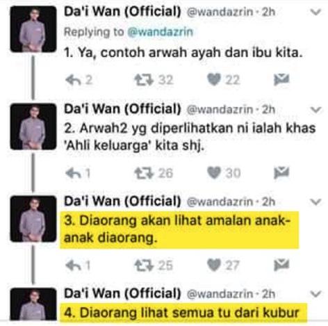Jawapan Sebenar Kepada Tweet Viral Da'i Wan