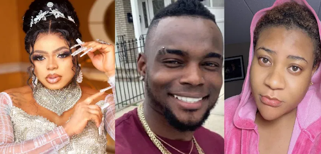 Bobrisky leaks identity of man who's allegedly the cause of his feud with Nollywood Actress, Nkechi Blessing Sunday (Photo)