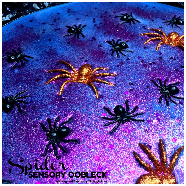 Spider Sensory Oobleck