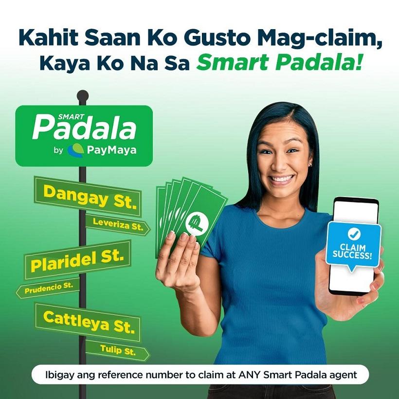 SmartPadala by PayMaya intros Claim Anywhere Service