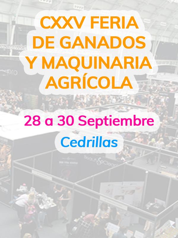 CXXV Feria de Ganados y Maquinaria Agrícola