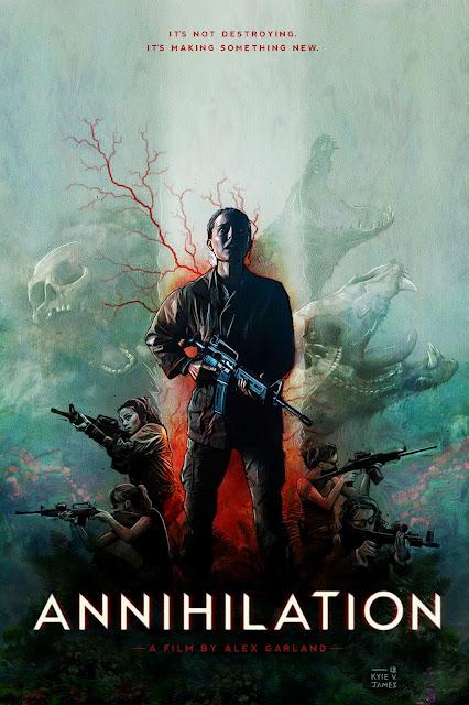 Annihilation - Poster Concept by Kyle V. James