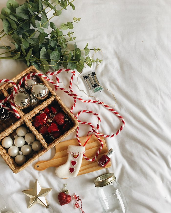 How to take a great festive flatlay - tips and tricks to up your Instagram game
