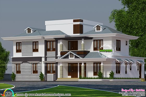 Modern house 3315 square feet