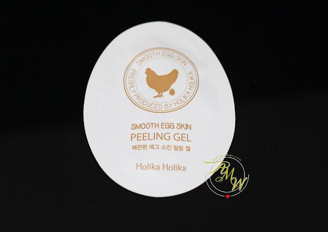 a photo of Holika Holika Smooth Egg Skin Peeling Gel