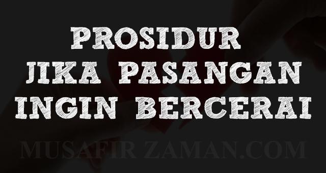 PANDUAN CERAI FASAKH SECARA ONLINE