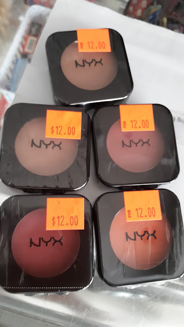 NYX Blushes www.modenmakeup.com