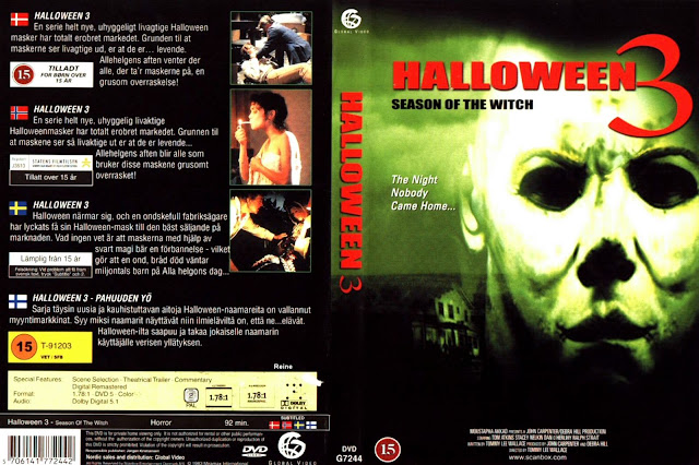 norwegian dvd cover - Halloween 3 Season Of The Witch Remake
