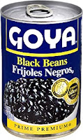 Goya Black Beans in a Can