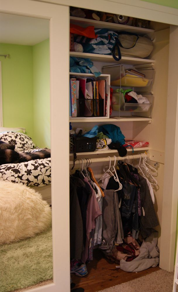 Tween Closet Organizing With A Professional Organizer