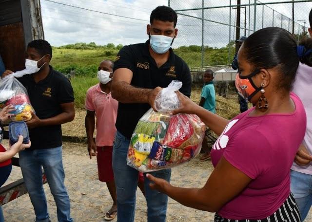 Prefeitura de Alagoinhas investe na distribuição de kits de alimentação para os munícipes