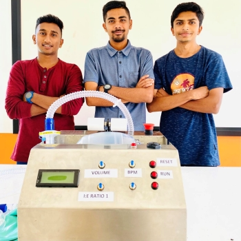University of South Pacific  Develops Low-Cost Emergency Ventilators