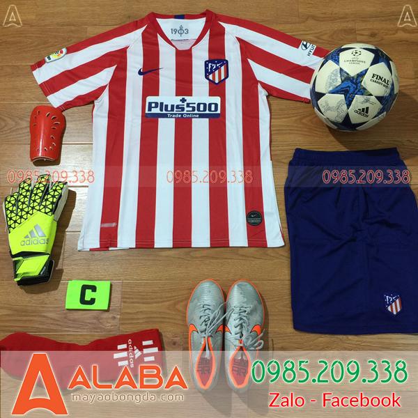 Áo CLB Alentico 2019 Sân Nhà Màu Đỏ