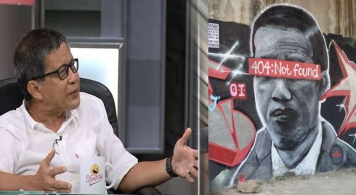 Heran Polisi Masih Kejar Si Pelukis Mural, Rocky Gerung: Rakyat Itu Hanya Tagih Janji Jokowi, Kenapa Malah Diburu?!