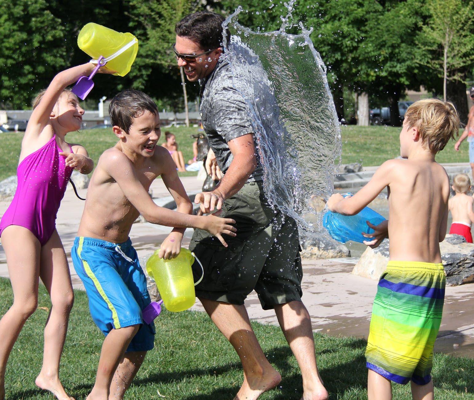 outdoor activity for kids in summer