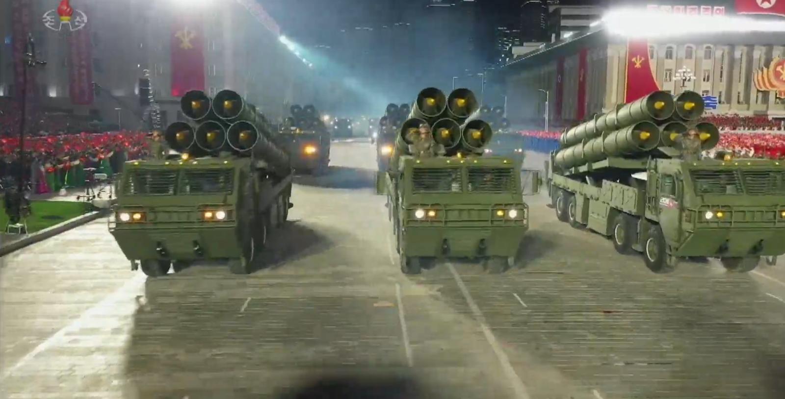 Північна Корея влаштувала перший за останні роки військовий парад