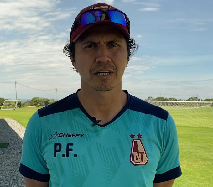 Alejandro Guzmán, P.F. del DEPORTES TOLIMA y su balance de los entrenamientos del 'Pijao'