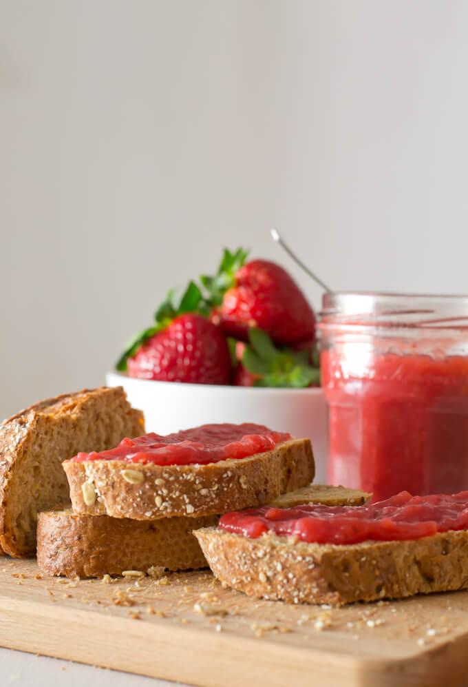 Strawberry jam step by step | danceofstoves.com