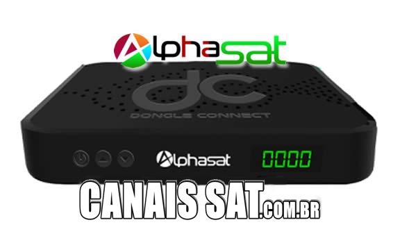 Alphasat DC Connect Nova Atualização V12.06.20.S75 - 20/06/2020