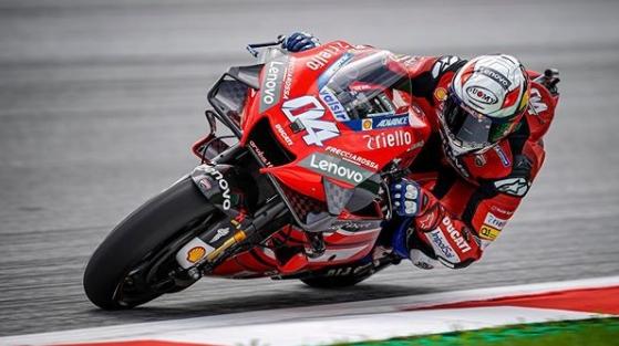 Andrea Dovizioso Juara MotoGP Austria 2020