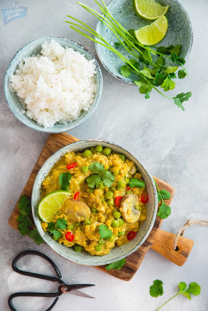 Proste curry z warzyw i strączków