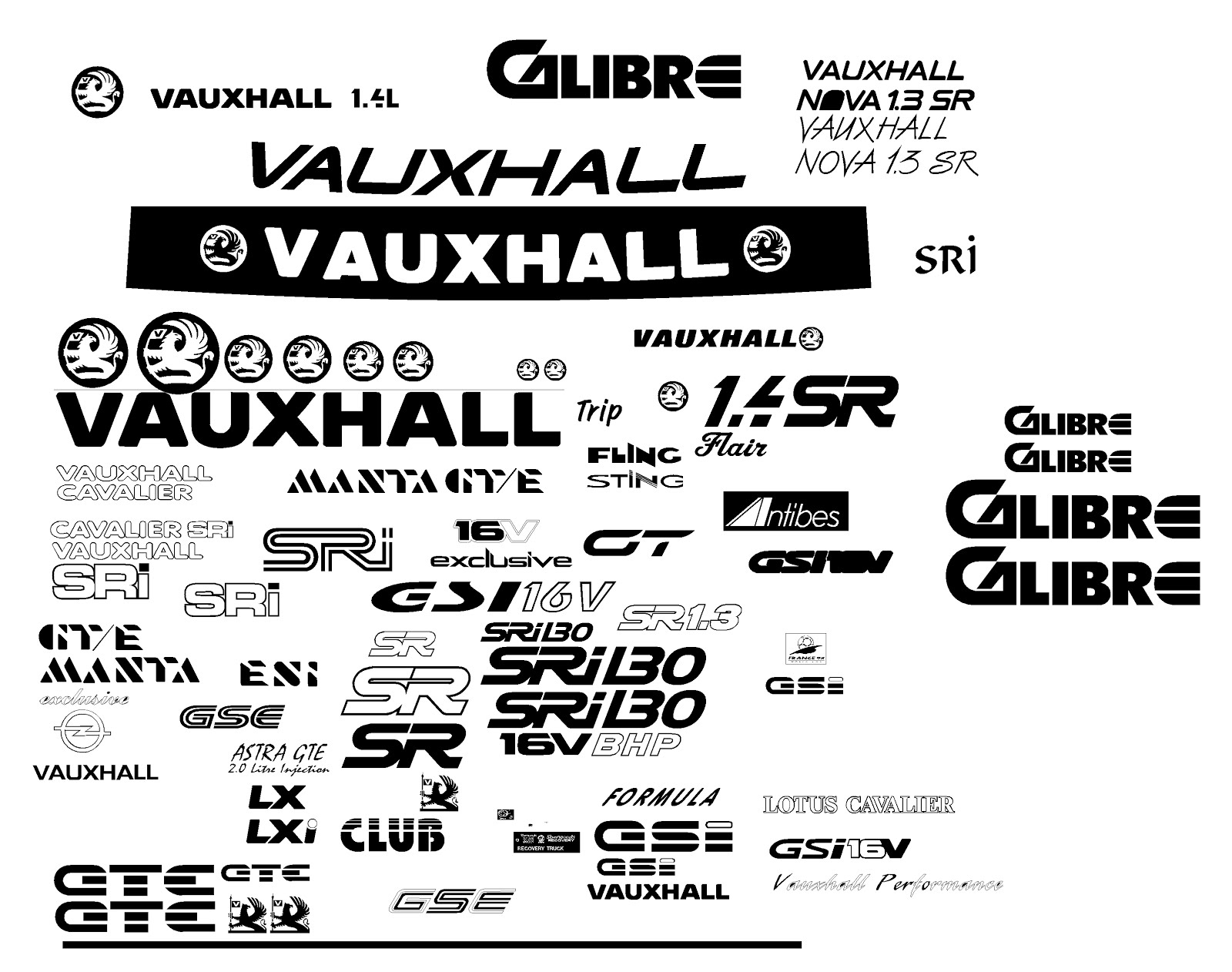 The Green I Signs Blog: vintage Ford, Vauxhall & Audio