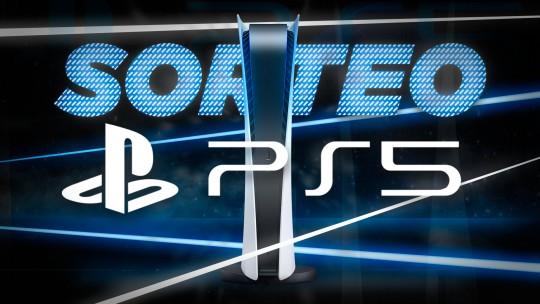Sorteio de um PlayStation 5 Edição Digital