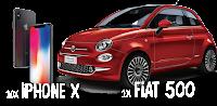 Castiga 10 iPhone X sau 1 FIAT 500 - concurs - algida - castiga.net - inghetata