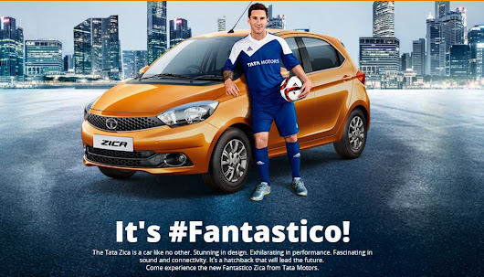The All New Tata ZICA Hatchback: It's #Fantastico