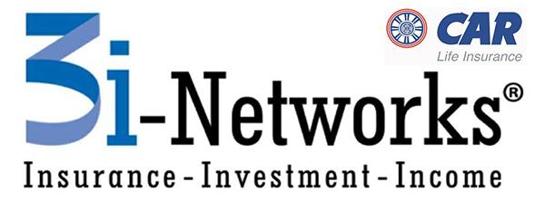 3i Networks adalah suatu sistem pemasaran asuransi jiwa melalui jaringan keagenanan 3i Networks yang mengajak Nasabah selain mendapat perlindungan (proteksi) dan Investasi, juga penghasilan sebagai agen asuransi jiwa (mengikuti peraturan keagenan yang berlaku) atau sebagai pemberi referensi calon nasabah potensial.Kepanjangan dari 3i-Networks yaitu :