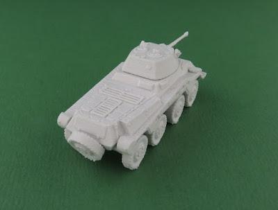 Sd Kfz 234/2 Puma Armoured Car picture 6