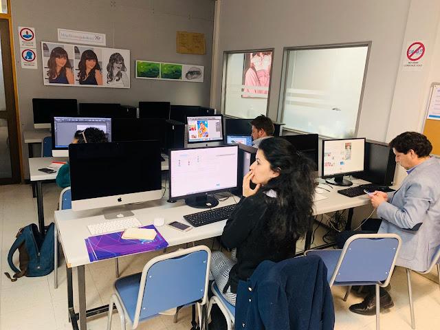 Periodistas de Ñuble se capacitan en diseño en la Universidad del Bio Bio