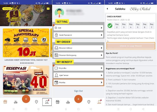 """Semangkuk Mie Ayam Menuju """"Go Digital"""" - Aplikasi 03"""