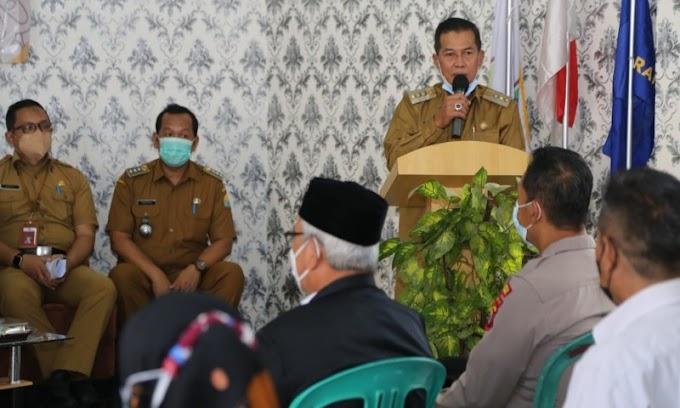 Walikota Serang Monitoring Pelayanan dan Pembangunan di Walantaka