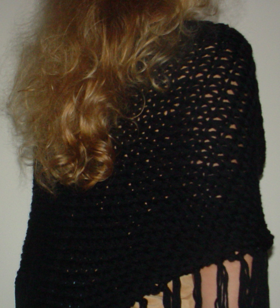 The Knifty Knitter: The Drop Stitch Shawl for the Knifty ...