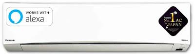 Panasonic 1.5 Ton 5 Star Wi-Fi Twin Cool Inverter Split AC