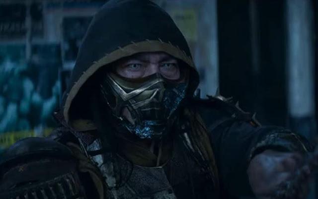 Mortal Combat upcoming Movie poster