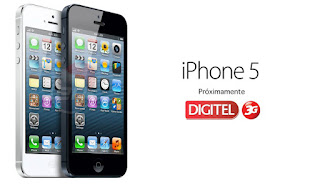 iPhone 5 Digitel