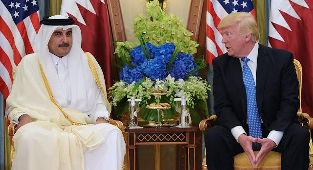 Katar Emiri Şeyh Temim Trump Cevap
