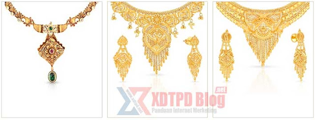 Model Kalung Emas Pengantin