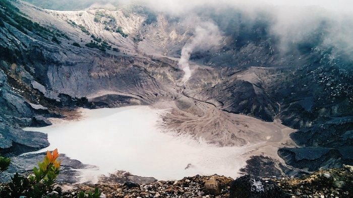 Data Letusan Gunung Tangkuban Perahu