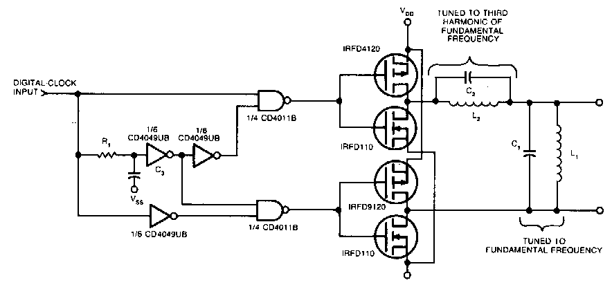 square a to sine wave converter circuit diagram
