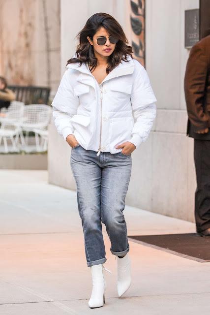 Priyanka Chopra in Jeans – Out in New York City